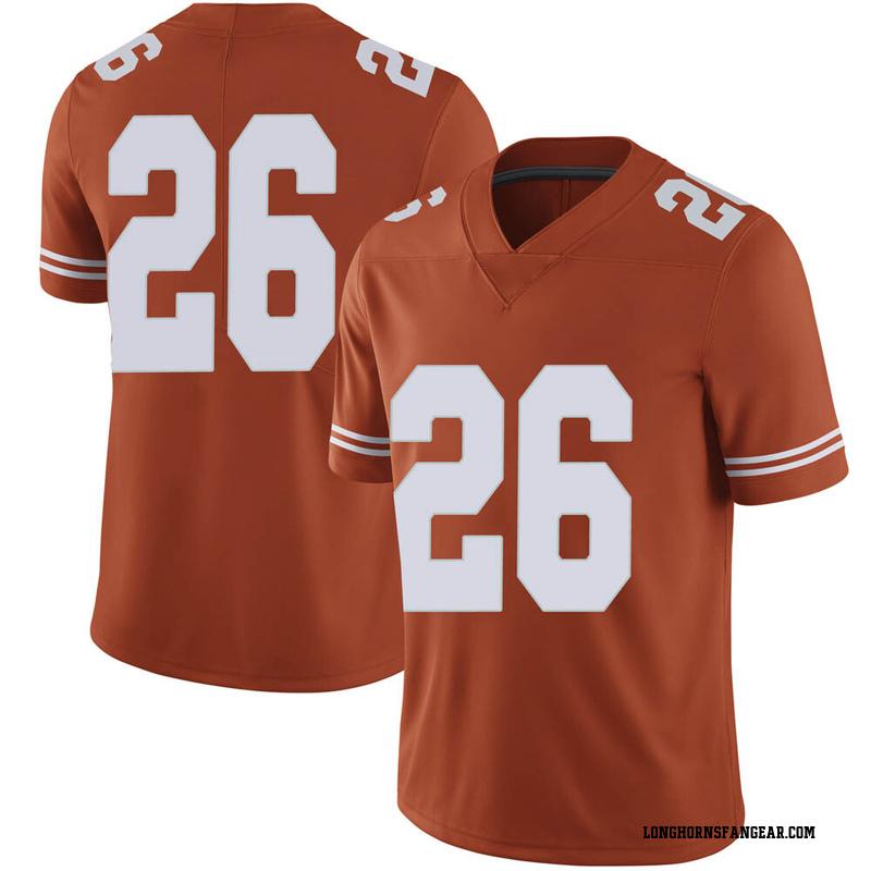 Limited Men's Christian Tschauner Texas Longhorns Orange Mens Football College Jersey