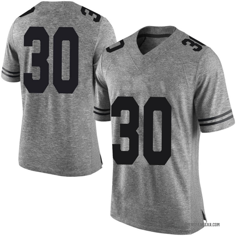 Limited Men's Turner Symonds Texas Longhorns Gray Mens Football College Jersey