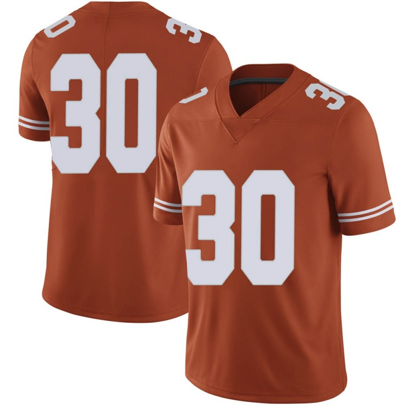 Limited Men's Turner Symonds Texas Longhorns Orange Mens Football College Jersey